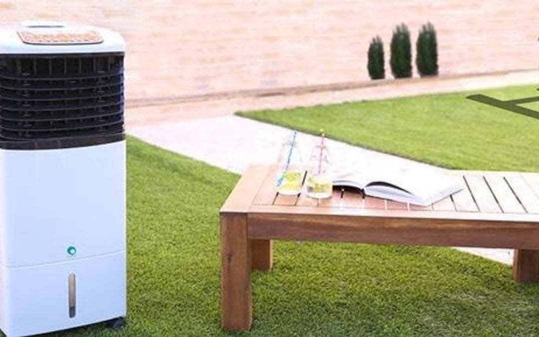 Climatización para el jardín